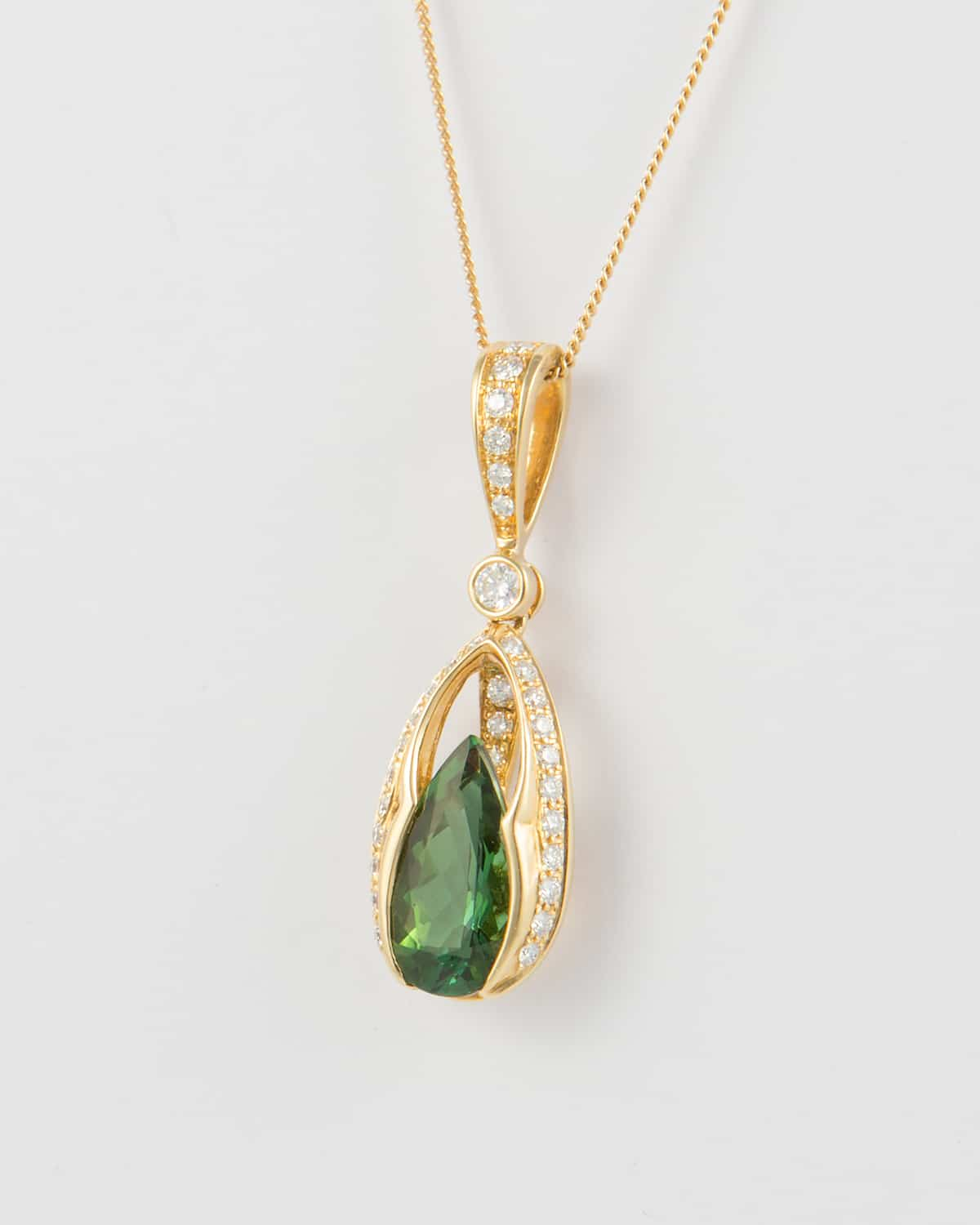 The October birthstone, tourmaline