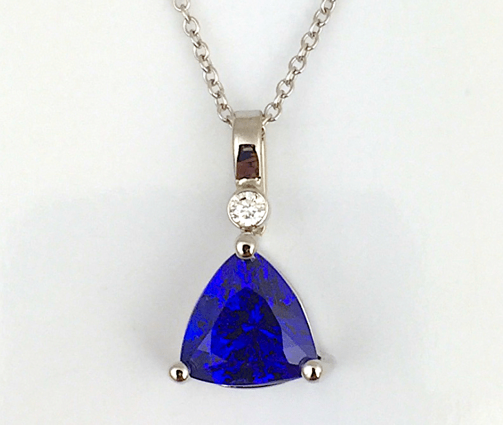 December's birthstone tanzanite