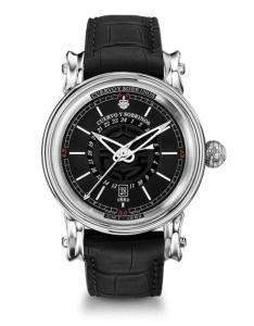 Cuervo y Sobrinos Pirata GMT Watch