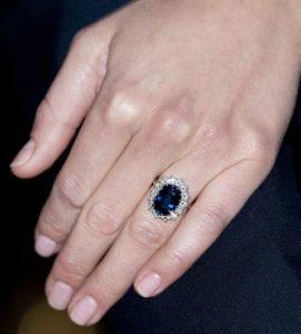 Princess Diana's engagement ring.