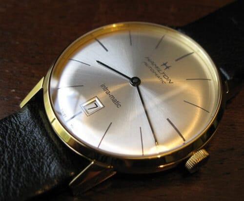 Hamilton Intra-Matic auto watch.