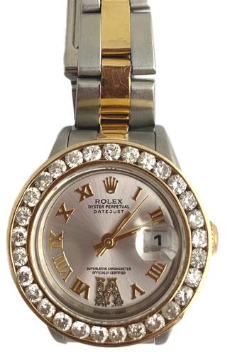 Ladies Rolex diamond bezel