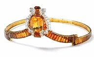 Citrine Tiara from 1937 created by Cartier.