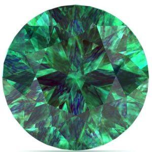 Emerald gemstone - the May birthstone.