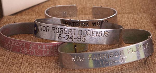 POW MIA symbol bracelets