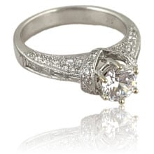 BSH diamond engagement ring at Copeland Jewelers in Austin, Texas