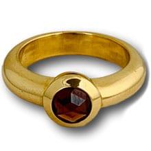 Tiffany garnet ring