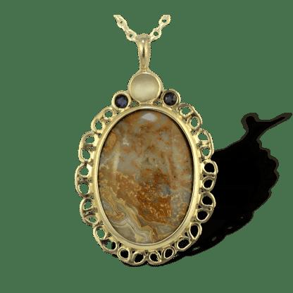 Jasper Pendant in Sterling Silver