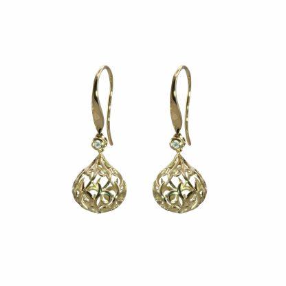 Olivia B Florentine Ball Earrings