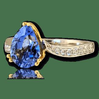Philip Zahm Ceylon Sapphire Ring