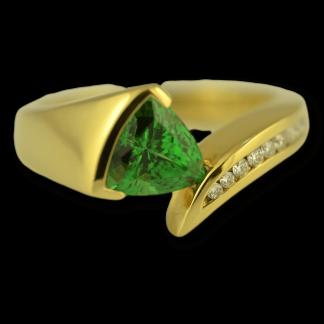 Philip Zahm Tsavorite Ring