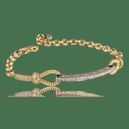 Oro Alexander Diamond Bar Bracelet