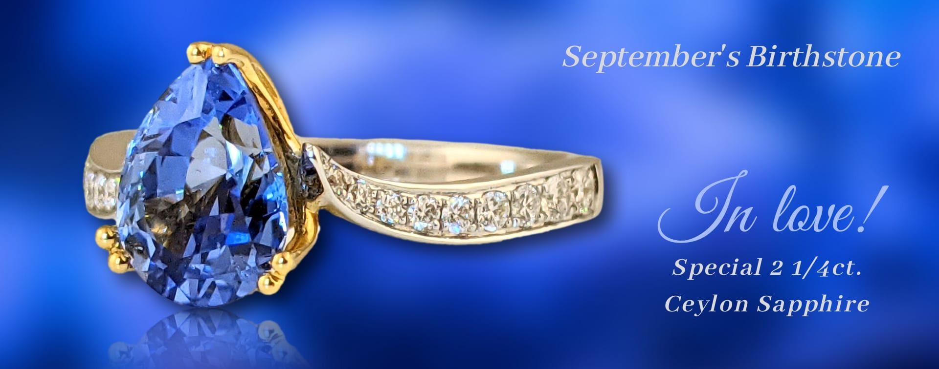 Zahm Sapphire Ring Banner
